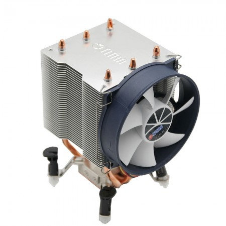 With 3 direct contact heat pipes, significantly transfer the heat sink from CPU operation and boost airflow