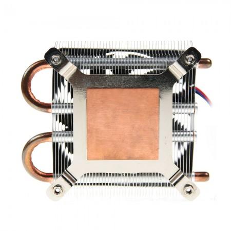 Update pure copper base to accelerate heat conductivity.
