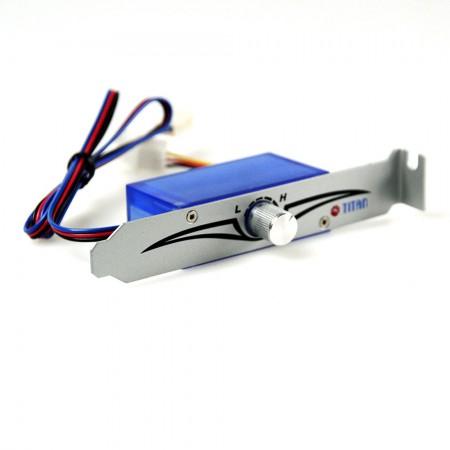 С 120 мм вентилятор с PWMсоздает превосходную сбалансированную настраиваемую скорость и производительность охлаждения