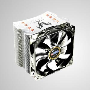 Universal- CPU Air Cooler with 4 DC Heat Pipes & 120mm Silent PWM Fan / Fenrir / TDP 160W - Universal CPU air cooler with 4 direct contact heat pipes and 120mm silent PWM fan. It can accelerate heatsink and well balance between heat transfer and silent performance.