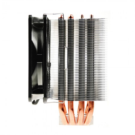 High value striking cooling fins design, enhance the amount of air it is capable of circulating