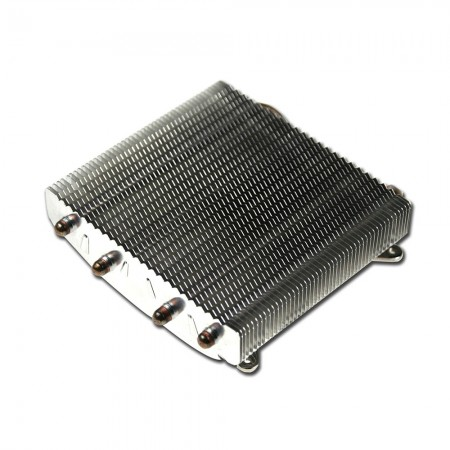 With 4 direct contact heat pipes, significantly transfer the heat sink from CPU operation and boost airflow