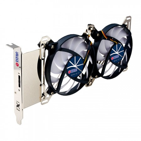 Freely Fan Speed Control- balance heatsink and low-noise.