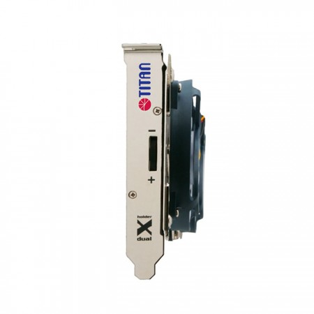 With adjustable speed controller, it can freely balance heat dissipation and low-noise performance.
