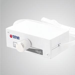 12V/24V DC Auto Switch 3-Pin Noise Reducer Lüfterdrehzahlregler - Dieser TTAN-Lüftergeschwindigkeitsregler hat eine einzigartige Funktion: 12V / 24V-Eingangsautomatik, die verschiedene Anwendungen unterstützt und vor Kurzschluss- und Überlastungsproblemen schützt.