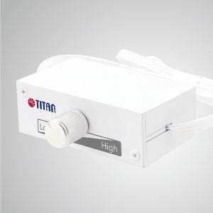 12V/24V DC Auto Switch 3-Pin Noise Reducer Fan Speed Controller - This TTAN fan speed controller has a unique function: 12V/24V input auto switch, which is support for various usage and protection from short circuit& overloading problems.