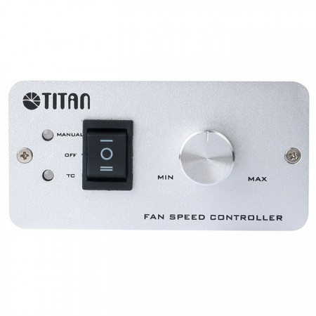 İki hız kontrolü modeli: otomatik olarak sıcaklık kontrolü ve döner düğmeli manuel model.
