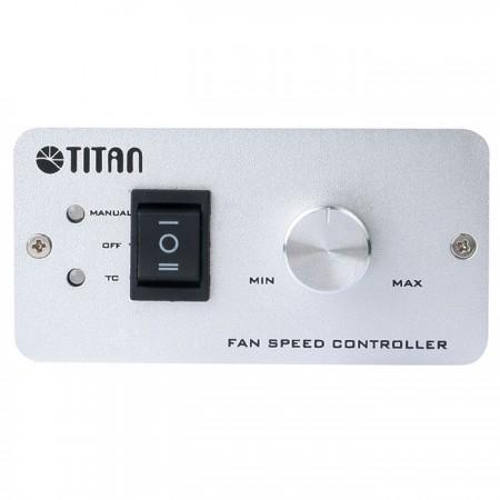 Deux modèles de contrôle de vitesse: contrôle automatique de la température et modèle manuel avec bouton rotatif.
