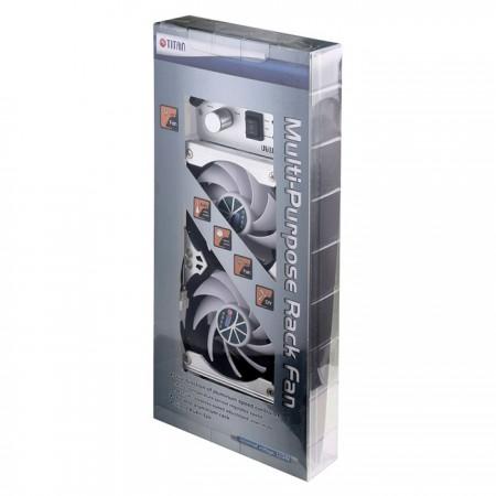 Système de ventilation pour réfrigérateur ou ventilateur polyvalent à monter sur rack de 90 mm.
