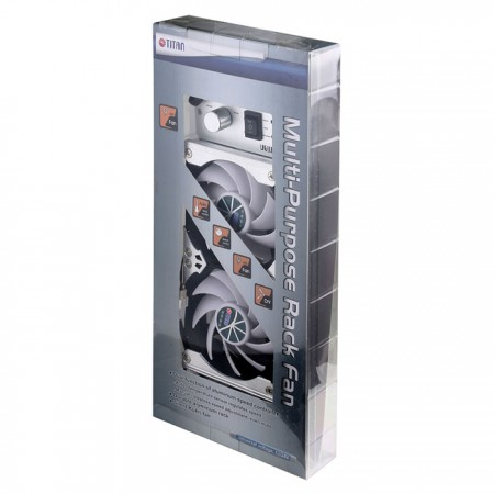 90mmラックマウント冷蔵庫換気または多目的ファンパッケージ。