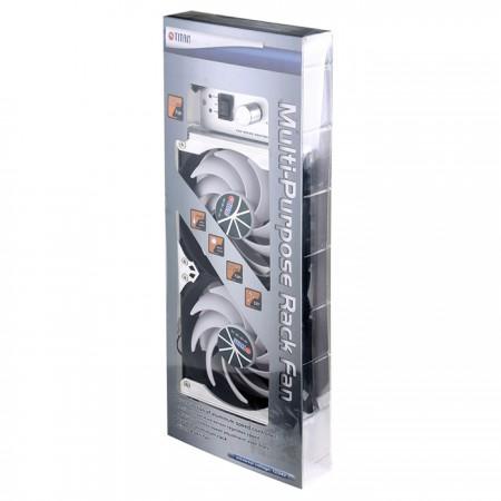 120mm 랙 마운트 냉장고 환기 또는 다목적 냉각 팬 패키지.