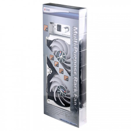 120mm rack mount refrigerator ventilation or multi-purpose cooling fan package.