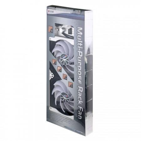 Ventilateur de réfrigérateur à montage sur bâti de 140 mm ou ensemble ventilateur polyvalent.