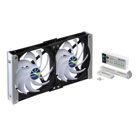 Es gibt 90-mm-, 120-mm-, 140-mm-Rackmontage-Lüftungslüfter für Kühlschranklüfter in Wohnmobilen, Wohnmobilen, LKW-Anhängern oder Lüftungsschranklüftern im Heimkino- / Audio- / Videoschrank.