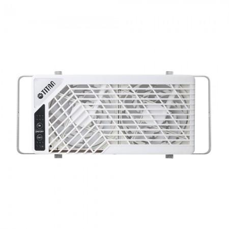 루프 창 장착 팬은 모터 홈, 여행 트럭, 주택, 캐비닛 등과 같은 다양한 공간을 환기 및 냉각하기 위해 가역적 기류의 기능을 가지고 있습니다.