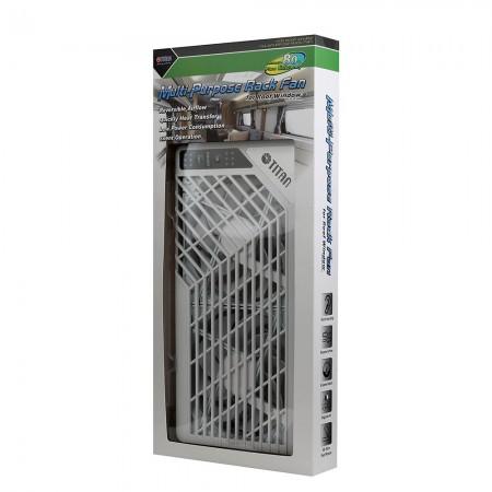 TITAN 12V Çatı havalandırma fanı paketi