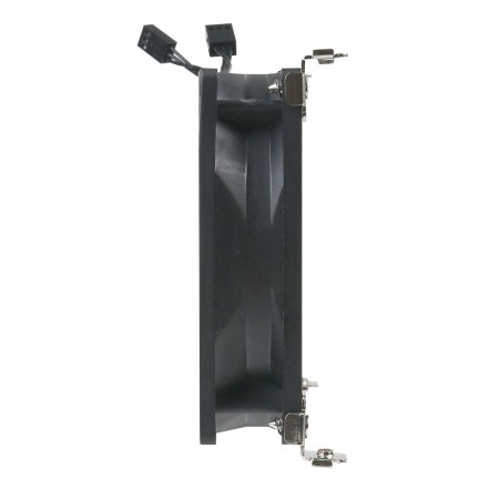The thickness of rack mounting fan is only 30mm.