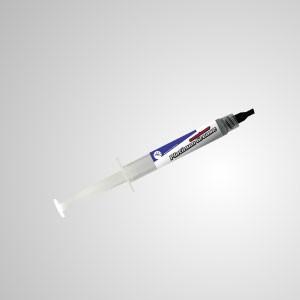 Wärmeleitpaste Platin Spritzenfett / Paste / für CPU Kühlkörper VGA LED, Grau (3g)