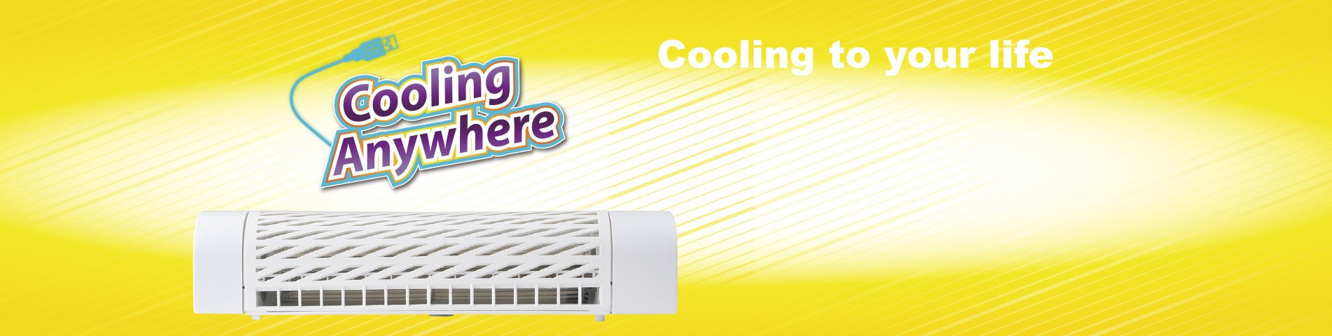 Cooling Fan Anywhere For Better Cool Life