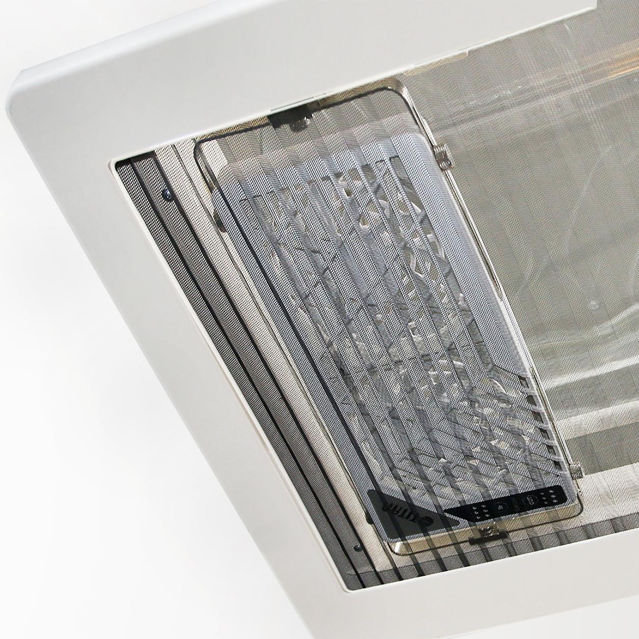 12v Dc Double Reversible Roof Window Ventilation Fan For