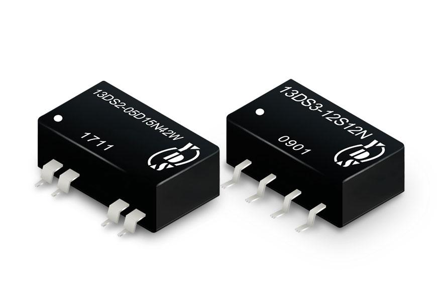 0.25 ~ 3W直流转直流电源(SMD包装)
