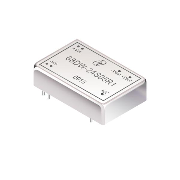 10W 1.6KV Isolation 4:1 DIL DC-DC Converter(68DW-R1 Series)