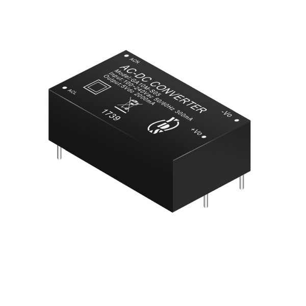 10W 4KVac Isolation Regulated Output AC-DC Converter(GA10M Series)