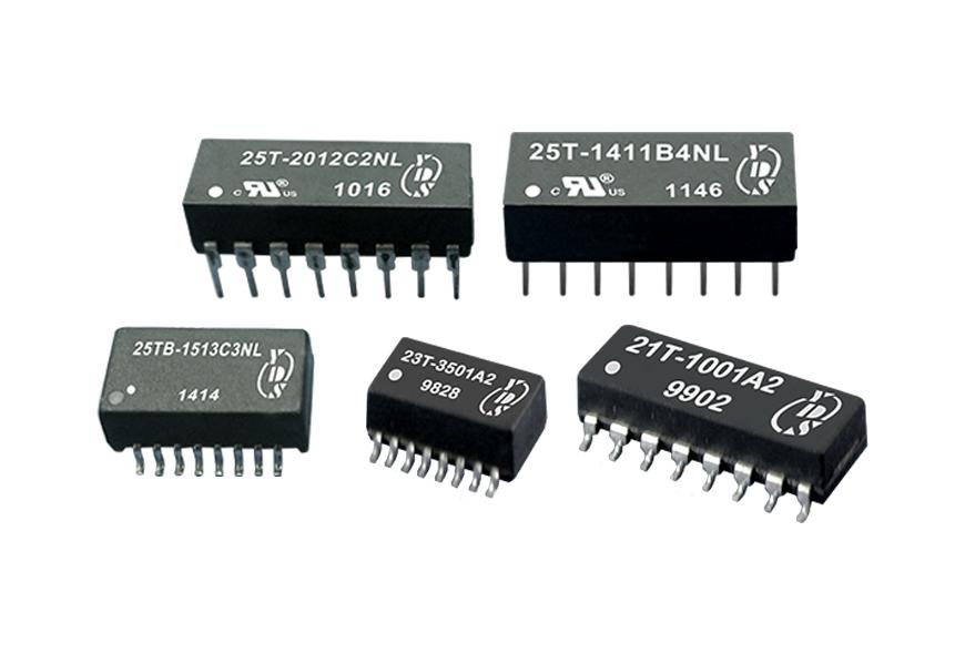 Transformateurs électroniques pour Ethernet