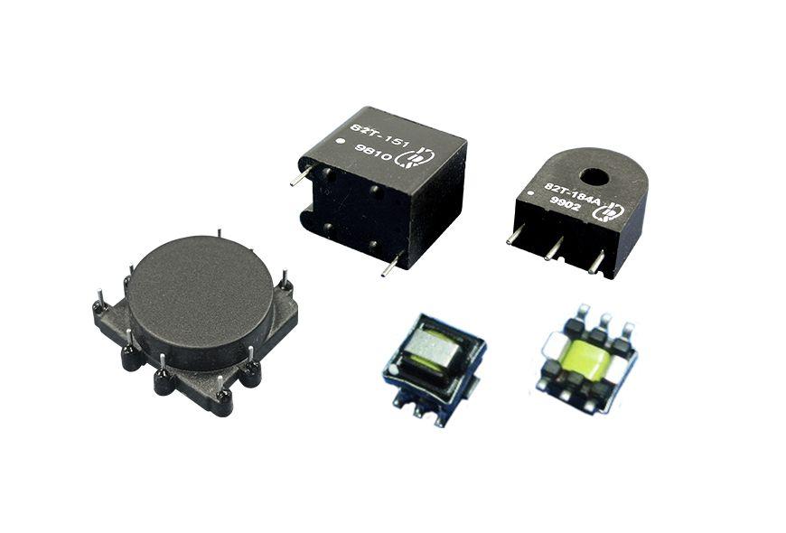 전류 감지 전자 변압기