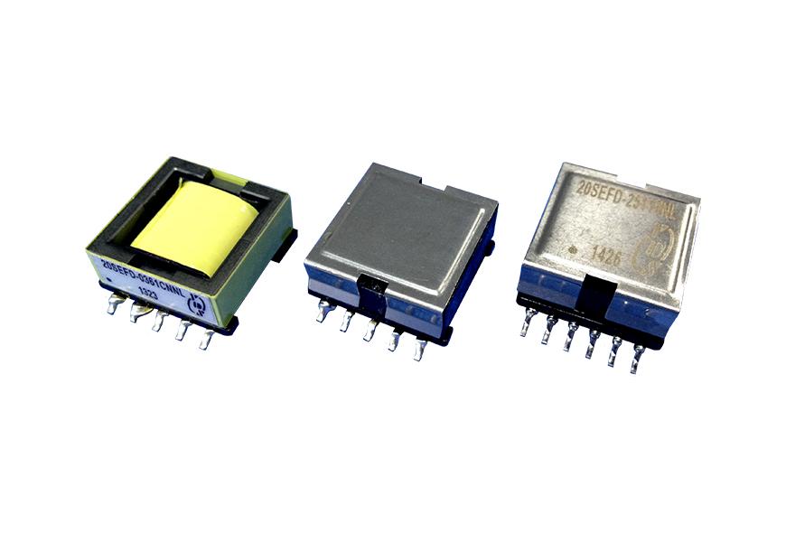 Transformateur électronique haute fréquence pour solutions PoE