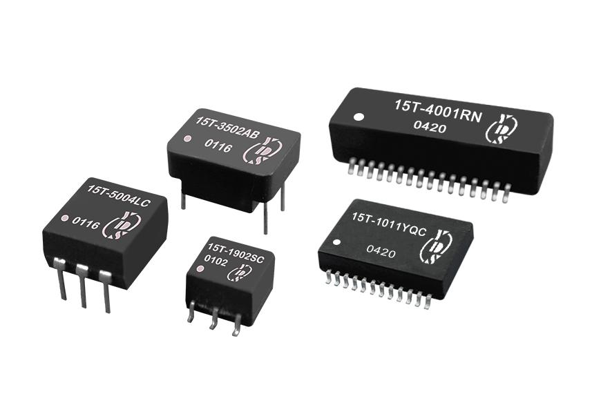 통신 애플리케이션용 T3/DS3/E3/STS-1 인터페이스 변압기
