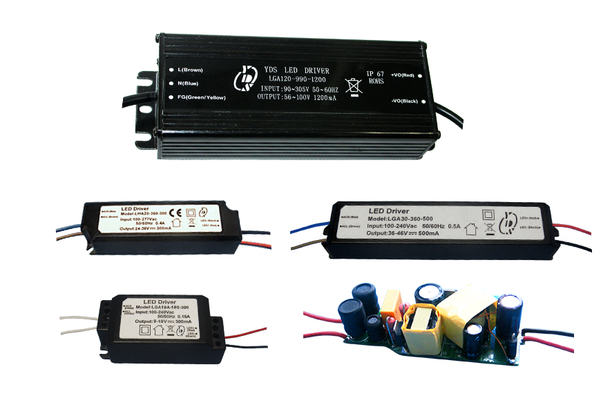Pilotes de LED AC-DC isolés