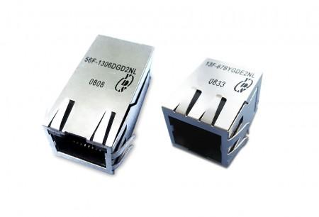 RJ45 magnetik (PoE) - RJ45 magnetik (PoE)