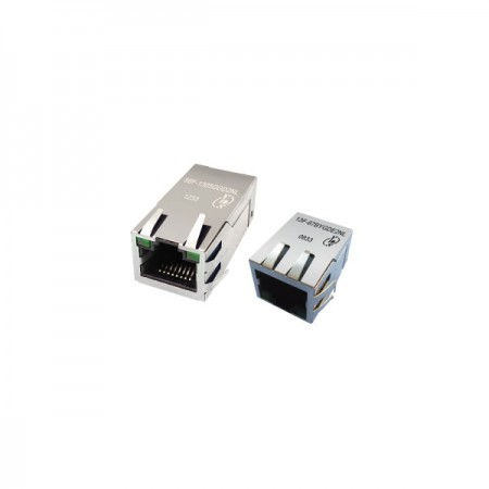 Single Port 100/1000Base-TX PoE & PoE+ RJ45 Jack With Magnetics - Single Port 100/1000Base-TX PoE & PoE+ RJ45 Jack With Magnetics