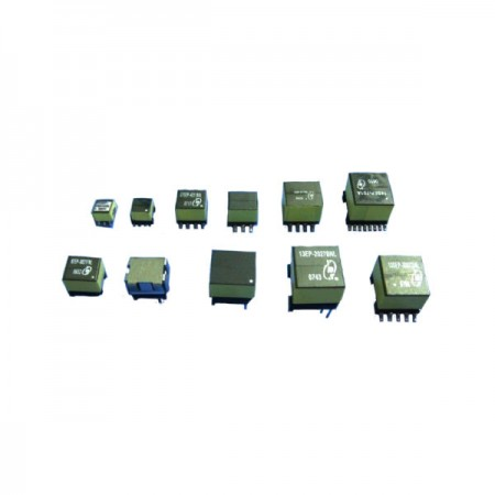 Transformateur haute fréquence PoE 3W ~ 27W SMD avec noyau EP - Transformateur haute fréquence SMD PoE 3W ~ 27W (série PoE EP)