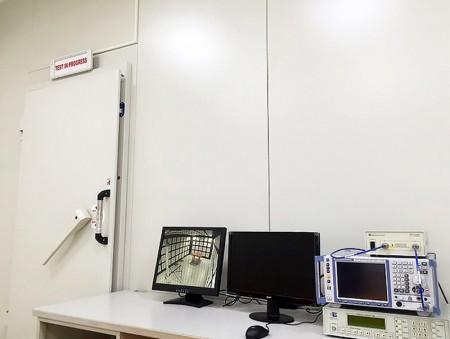 Chambre et équipement de test EMI