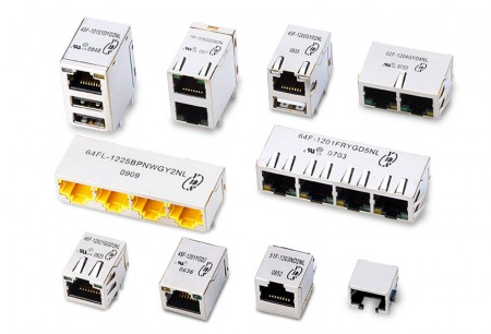 RJ45 With Magnetics