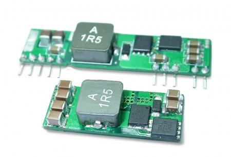 非隔離 0.5 ~ 16A - 直流轉直流電源 / 切換式穩壓器 (0.5 ~ 16A)