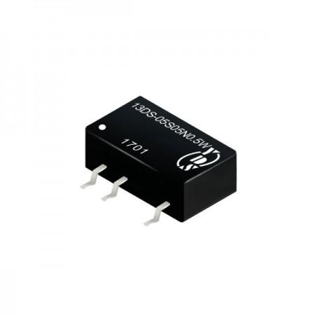 0.5瓦1KV隔离电压SMD 直流对直流电源转换器(13DS-0.5W) - 0.5瓦1KV隔离电压直流对直流电源转换器