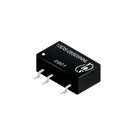 1瓦1KV隔离电压SMD 直流对直流电源转换器(13DS) - 1瓦1KV隔离电压直流对直流电源转换器