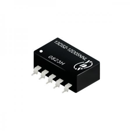 1瓦1KV隔离电压SMD 直流对直流电源转换器(13DS2) - 1瓦1KV隔离电压直流对直流电源转换器