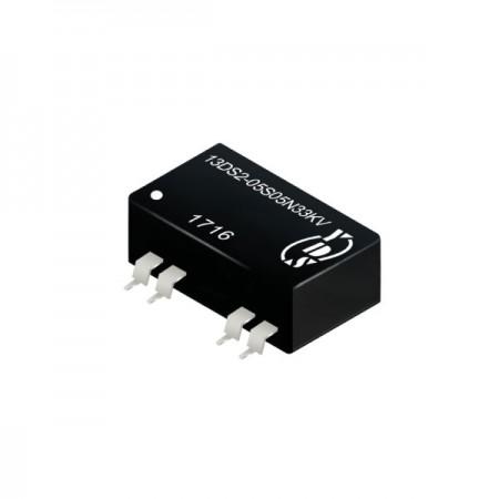 1瓦3KV隔离电压SMD 直流对直流电源转换器(13DS2-N33KV) - 1瓦3KV隔离电压直流对直流电源转换器