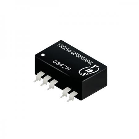 1瓦1KV隔离电压SMD 直流对直流电源转换器(13DS4) - 1瓦1KV隔离电压直流对直流电源转换器