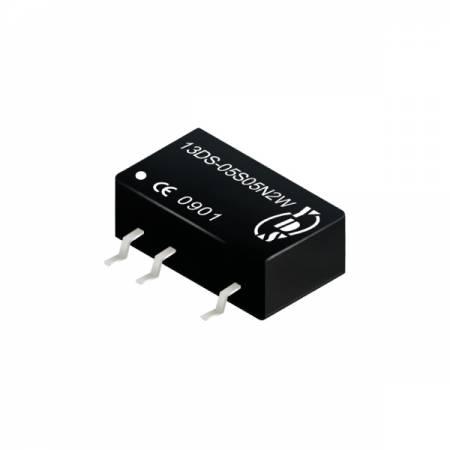 2瓦1KV隔离电压SMD 直流对直流电源转换器(13DS-2W) - 2瓦1KV隔离电压直流对直流电源转换器