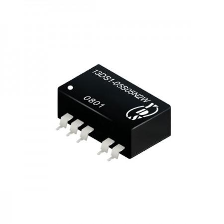 2瓦3KV隔离电压SMD 直流对直流电源转换器(13DS1-2W) - 2瓦3KV隔离电压直流对直流电源转换器