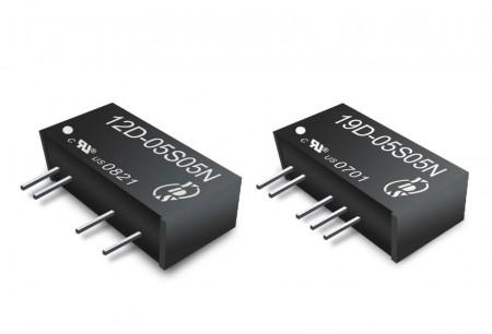 SIP包裝 0.25 ~ 9W - 0.25 ~ 6W直流轉直流電源 (SIP包裝)