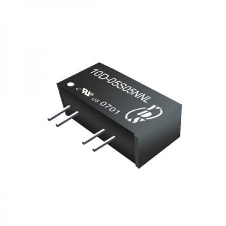 ตัวแปลง SIP DC-DC แบบแยก 1W 1KV (10D) - ตัวแปลง SIP DC-DC แบบแยก 1W 1KV (10D ซีรี่ส์)