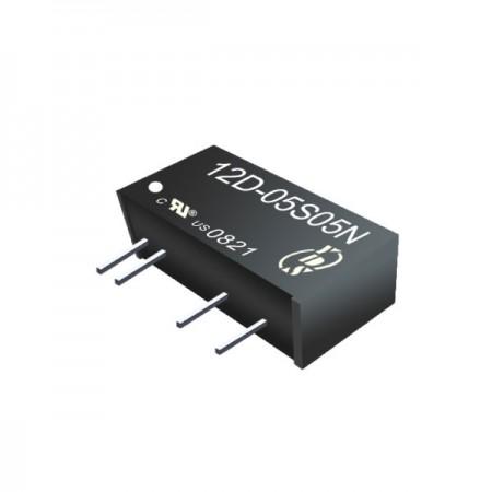 ตัวแปลง SIP DC-DC แบบแยก 1W 3KV (12D-3KV) - ตัวแปลง SIP DC-DC แบบแยก 1W 3KV (ซีรี่ส์ 12D-3KV)