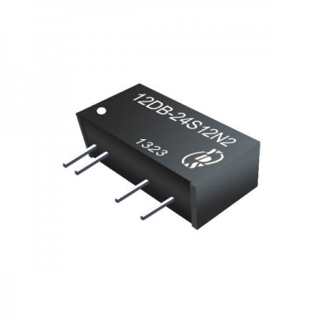 1W 3KV Isolation SIP Continuous Protection DC-DC Converter - 1W 3KV Isolation SIP Continuous Protection DC-DC Converter(12DB Series)