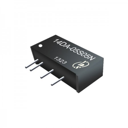 1W 1KV Isolation SIP High Efficiency DC-DC Converter - 1W 1KV Isolation SIP High Efficiency DC-DC Converter(14DA Series)